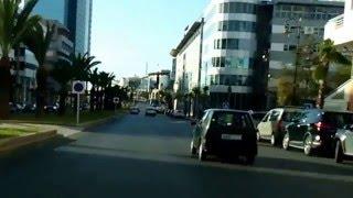 جولة بشارع النخيل - حي الرياض - عاصمة الأنوار الرباط. Driving Chawi