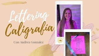 Lettering  - Andrea Gonzáles