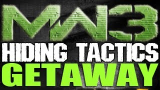 MW3 - Face Off 2v2 Hiding Tactics - GETAWAY