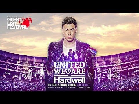 Hardwell Live @ (World's Biggest Guestlist Festival)  India 2017