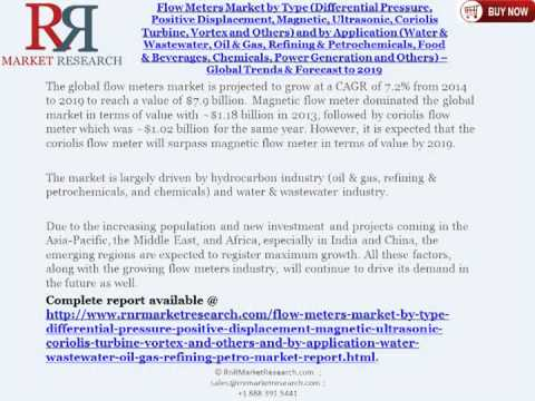 Flow Meters Market Reaches a Value Worth $7.9 Billion by 2019