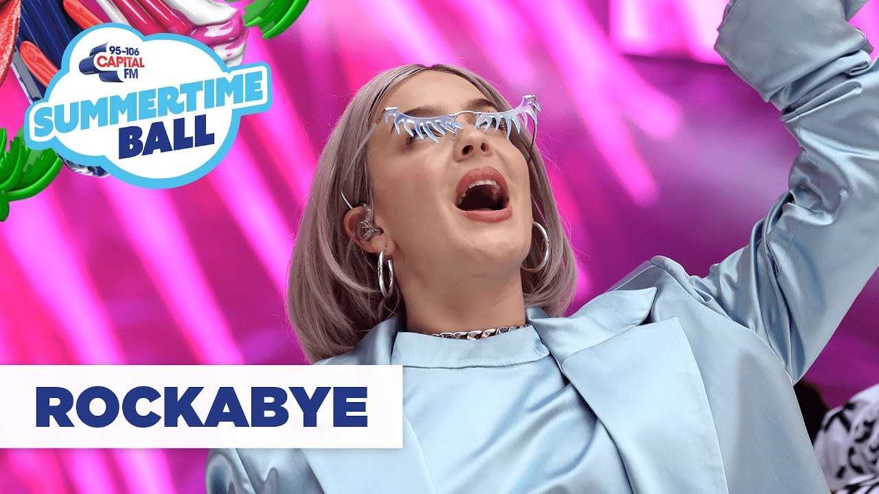 Anne Marie – 'Rockabye'   Live at Capital's Summertime Ball 2019