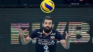 【バレーボール】イランのセッター!司令塔のサイード・マルーフの動きが的確且つ、最高!!【衝撃】Iran's setter!【volleyball】 thumbnail