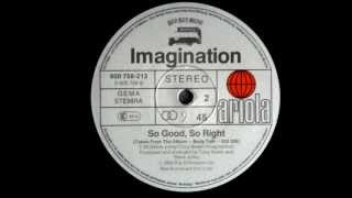 Imagination - So Good, So Right Original 12 inch Version 1982