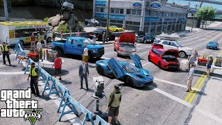 GTA 5 Real Life Mod #121 Ford Dealership Grand Opening