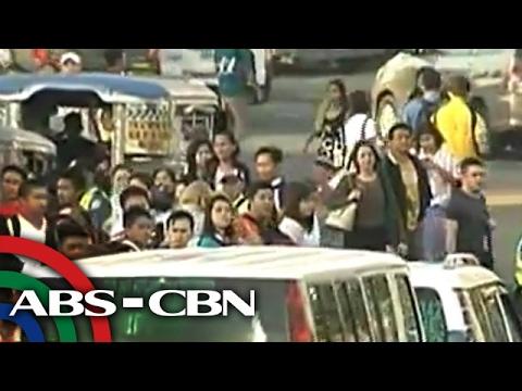 UKG: Jeepney strike strands commuters