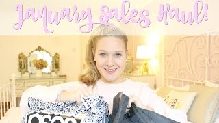 Highstreet and Online January Sales Haul - Boohoo, ASOS, River Island and more!
