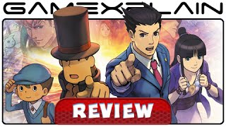 Professor Layton vs Phoenix Wright: Ace Attorney - Video Review (3DS)