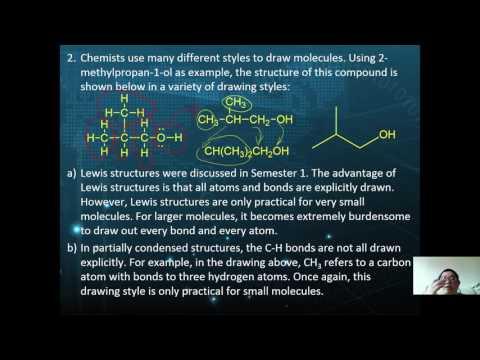 STPM Sem 3 / A-Level : Organic Chem: Introduction to Organic 03