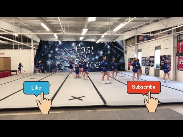 Level 1 cheer routine