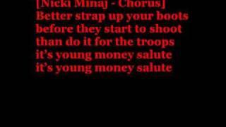 YM Salute - Lil Wayne (LYRICS)