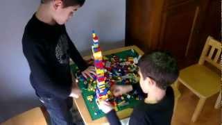 Children LEGO Architecture Burj Khalifa in Dubai
