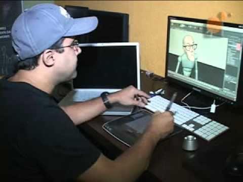 Programa voca es cursos de anima o 3d art cia youtube - Programas para 3d ...