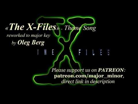 «The X-Files» - Theme Songin major key