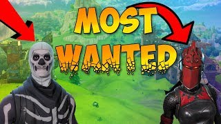 Top 5 MOST WANTED Skins In Fortnite Battle Royale
