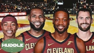 Dwyane wade to the cavs; can they beat the warriors now? -the huddle