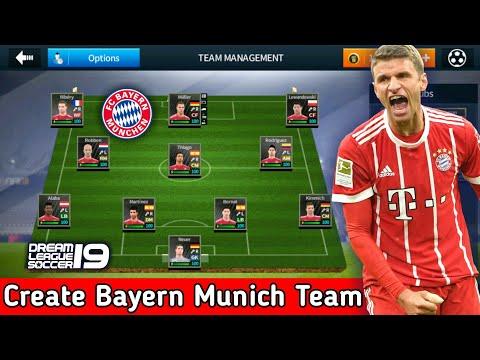 newest 76a7e 527c3 Create FC Bayern Munich Team ☆ Kit Logo & Players ☆ Dream ...