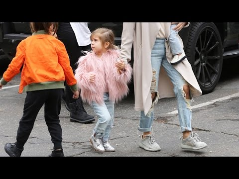Penelope Disick Upstages Her Family In Darling Ensemble For Outing