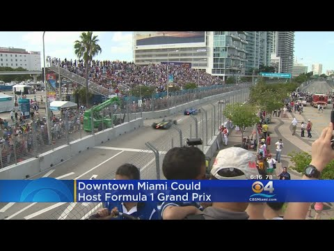 F1 Seeking To Hold Race In Miami Starting In 2019