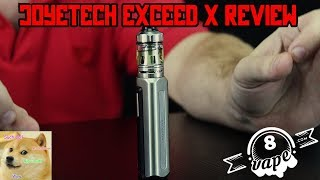 Joyetech Exceed X Review, Salt Nic Vaping in a Mini Mod!