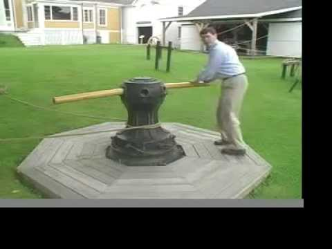 Working the capstan