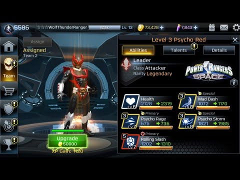 Power Rangers: Legacy Wars The Lone Warrior Episode 2 Psycho Red Ranger