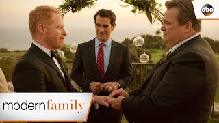 Mitch and Cam Get Married - Modern Family