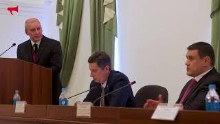 Выступление кандидата в мэры Владивостока, Журавлева Петра Владимировича