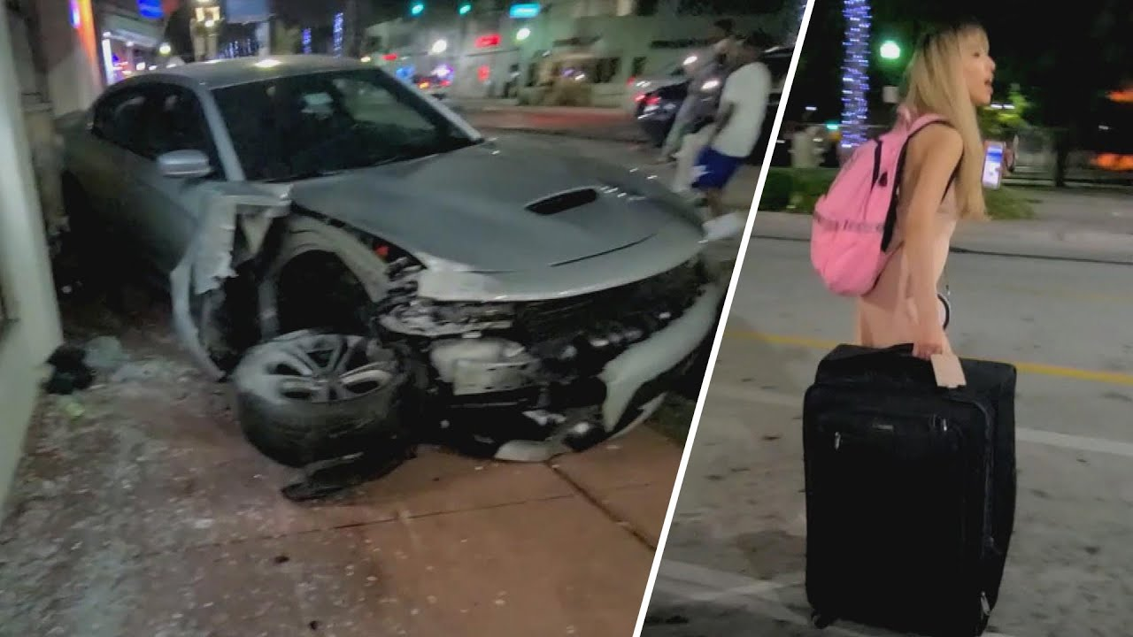 Woman Fleeing From Car Wreck Caught With Witness Help: Police