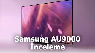 UHD 4K akıllı televizyon Samsung AU9000 inceleme