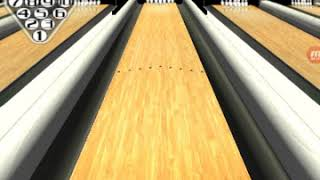 3d bowling game play  [got a turkey so three strikes in a row]