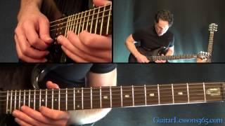 Unchained Guitar Lesson Pt.2 - Van Halen - Main Solo & Breakdown