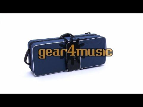 Deluxe Hard Foam Tenor Sax Case by Gear4music
