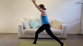 21 Minute Shoulders and Hips Yoga Flow