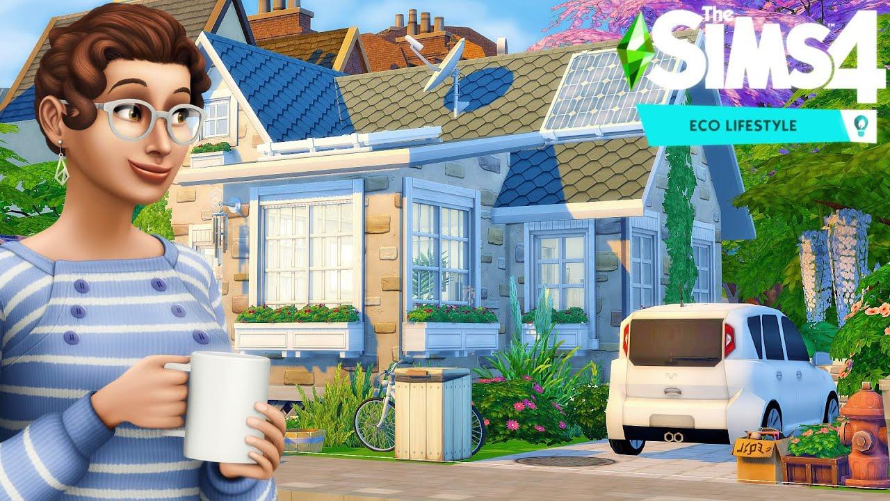Sims 4 / TEACHER HOUSE 🏠 Speed Build / no CC