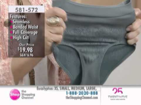 d845697c8f9 Rhonda Shear 3 Pack Jaquard Panty at The Shopping Channel 581572