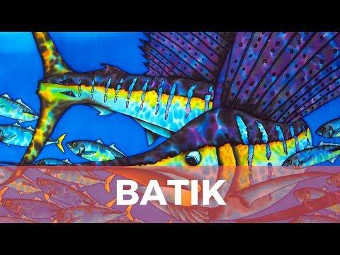 BASIC BATIK SILK PAINTING TECHNIQUES OF JEAN-BAPTISTE | SAILFISH