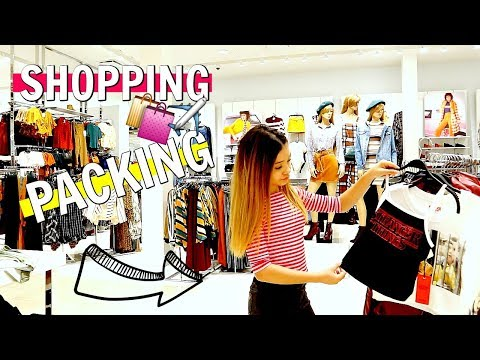 Shopping and Packing HAUL for the Streamy Awards in LA 🛍✈️