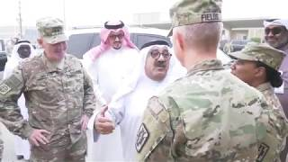 DFN: Kuwait Minister of Defense Visits Camp Arifjan, KUWAIT, 04.11.2018