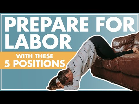 How To Engage Baby's Head In The Pelvis | Positions To Help With Labor And Birth | LABOR POSITIONS