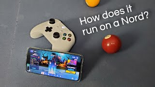 OnePlus Nord | Fortnite Gameplay Test with Controller