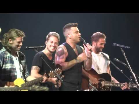 Robbie Williams - The Road to Mandalay - 23/10/15 Melbourne HD