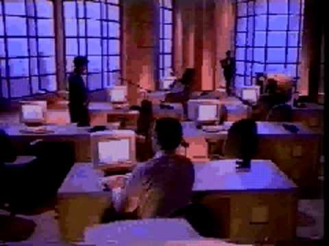 "Richoh ""Microsoft at work"" fax - Nostalgic commercial"