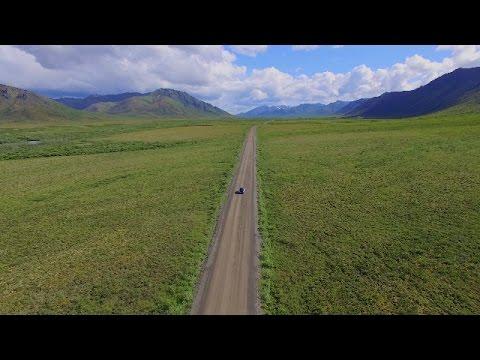 Scenes From the Yukon - DJI Phantom 3 Drone