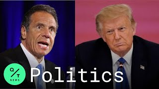 Cuomo: 'Trump Was Wrong From Day One' of Coronavirus Pandemic