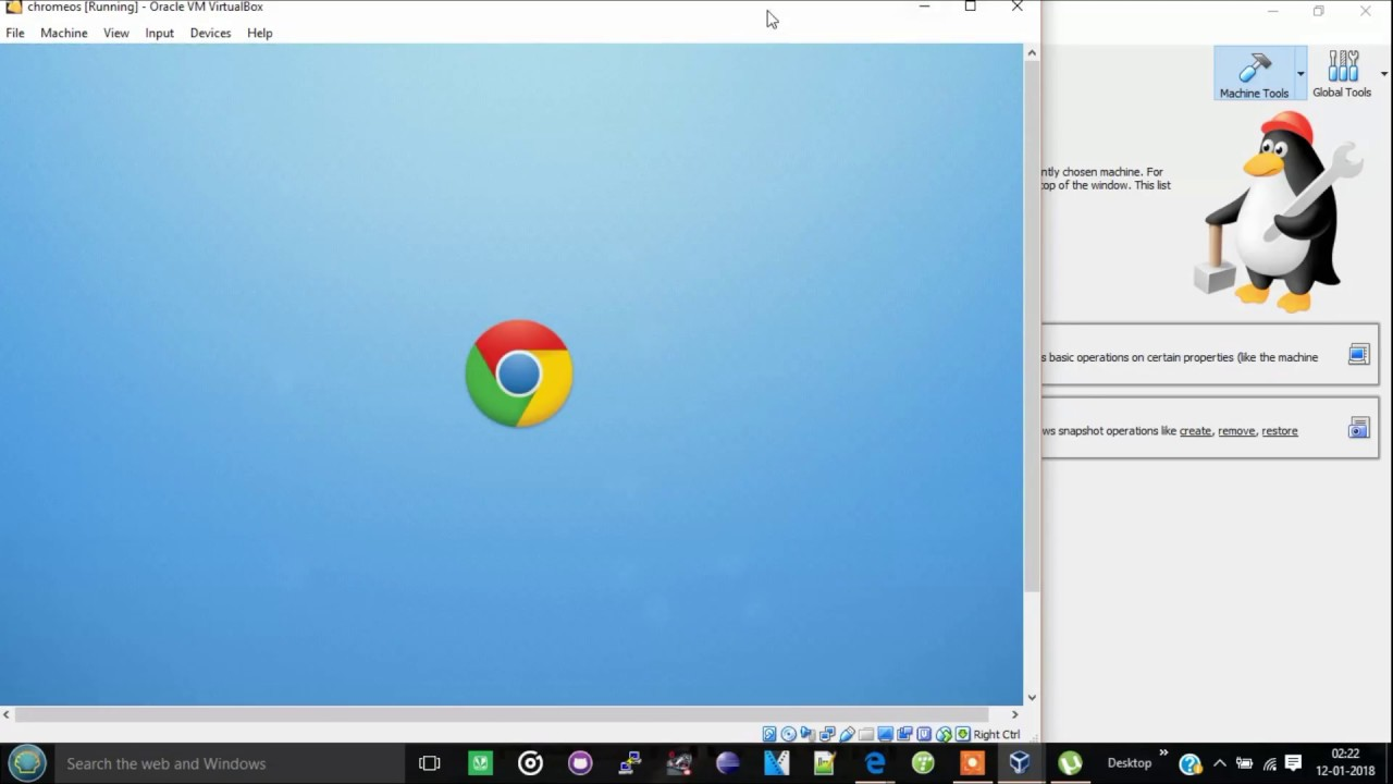 How to install Chrome OS in Virtual Box on Windows 7/8/10 2018!!!!