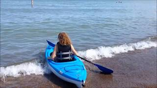 Pelican Trailblazer 100 Kayak - Our Performance Review on Lake Michigan