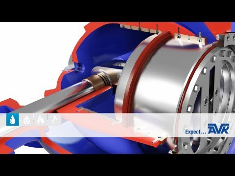 Needle valve animation from AVK