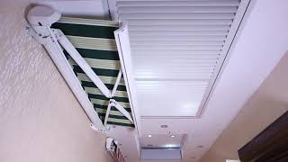 Scorpio - full cassette Motorized Awnings