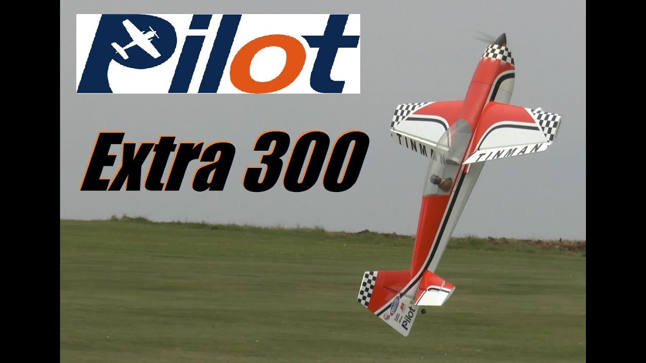 Pilot Rc Extra 300 Electric
